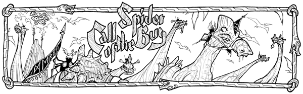 Call of the SpiderBug promo illustration